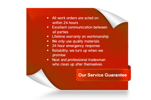 Our Electrician Service Guarantee